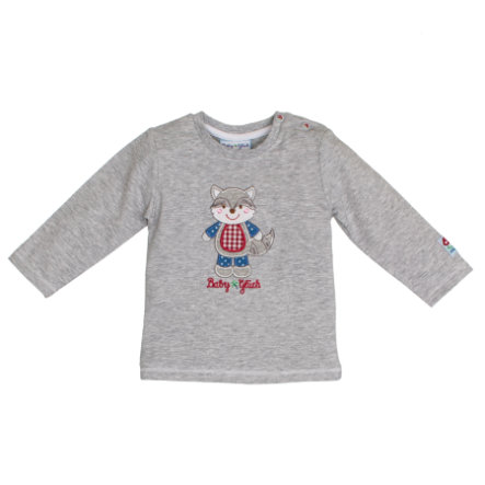SALT AND PEPPER BabyGlück Langarmshirt grey melange