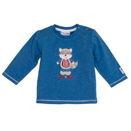 SALT AND PEPPER Baby luck shirt met lange mouwen blauw melange