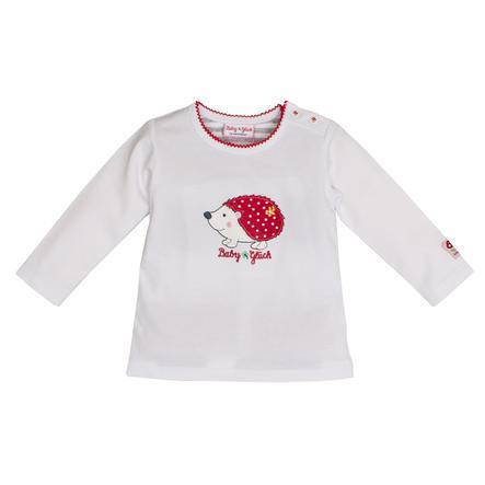 SALT AND PEPPER Szczęście dla dziecka, koszula z długim rękawem i białym jeżykiem.