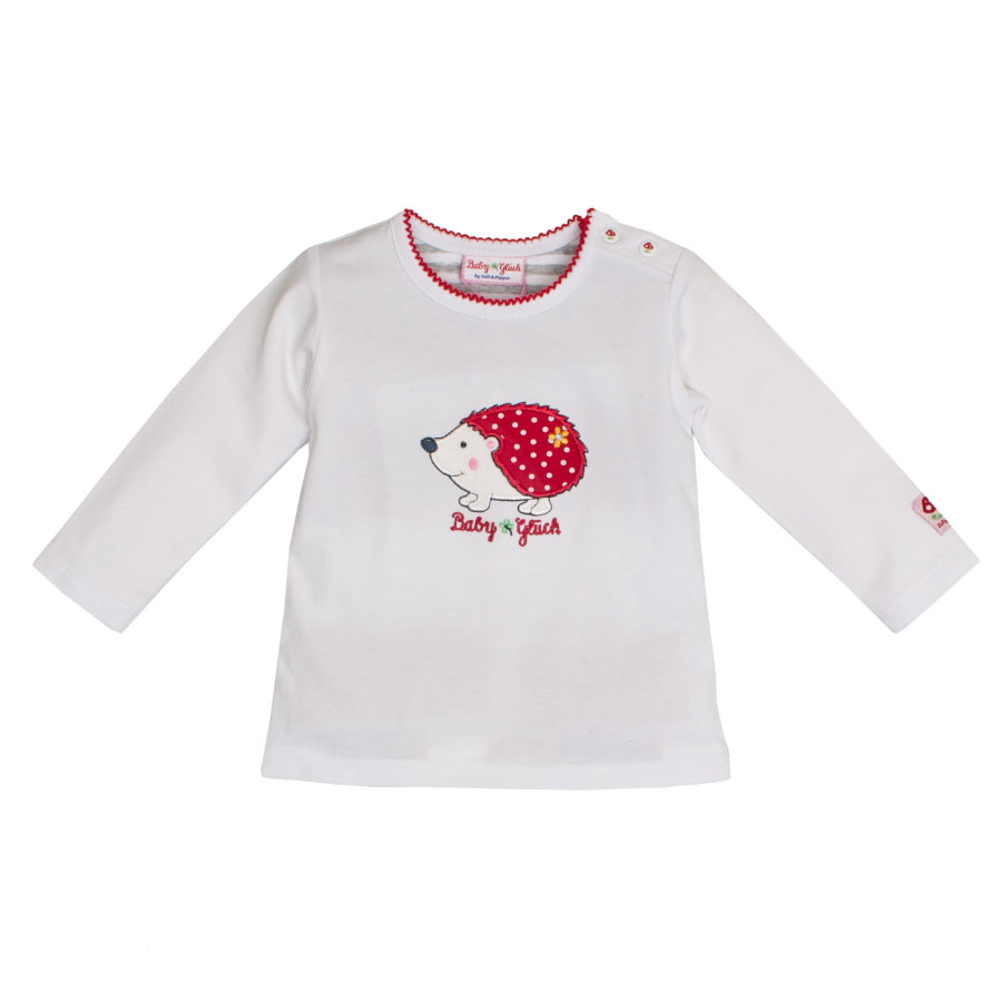 SALT AND PEPPER BabyGlück Langarmshirt Igel white