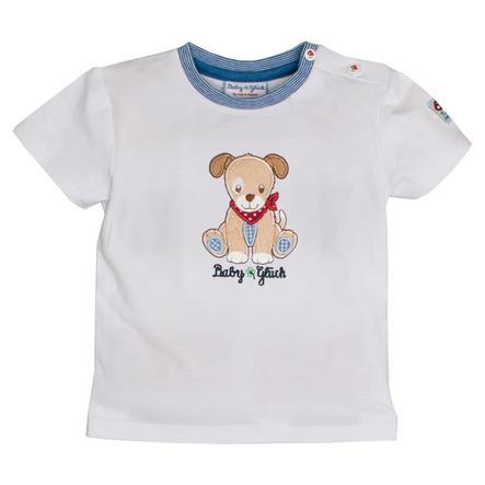 SALT AND PEPPER Dziecko T-Shirt szczęście pies biały