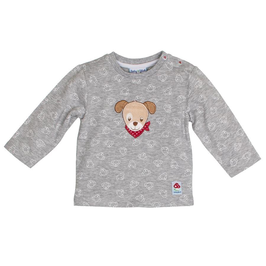 SALT AND PEPPER Baby luck camisa de manga larga todo gris mélange