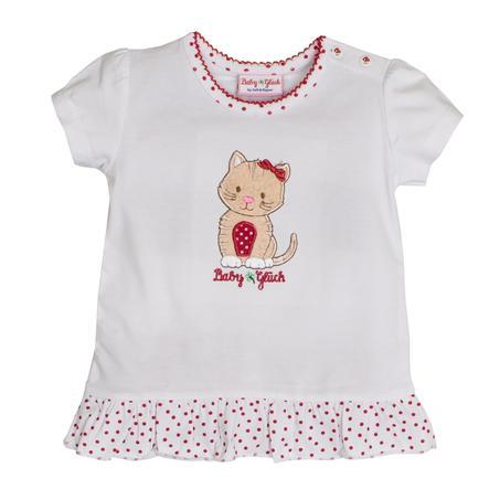 SALT AND PEPPER Suerte de bebé s T-Shirt volantes blancos