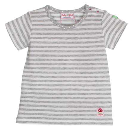 SALT AND PEPPER Bébé Girl chance s T-Shirt rayure gris melange