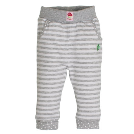 SALT AND PEPPER BabyGlück Girls Jogginghose stripe grey melange