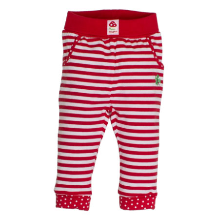 SALT AND PEPPER BabyGlück Girls Jogginghose stripe cherry red