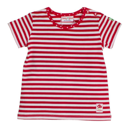 SALT AND PEPPER Baby Girl luck s T-Shirt rayas rojo cereza