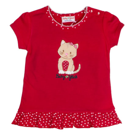 SALT AND PEPPER Baby Girl luck s T-Shirt frills cherry red