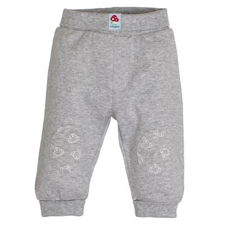 SALT AND PEPPER Baby luck Boys joggingbroek grijs gemêleerd grijs melange