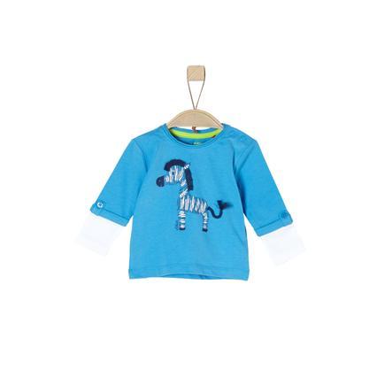 s.Oliver Boys Langarmshirt turquoise