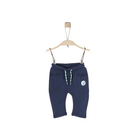 s.Oliver Boys Pantalone felpa blu scuro