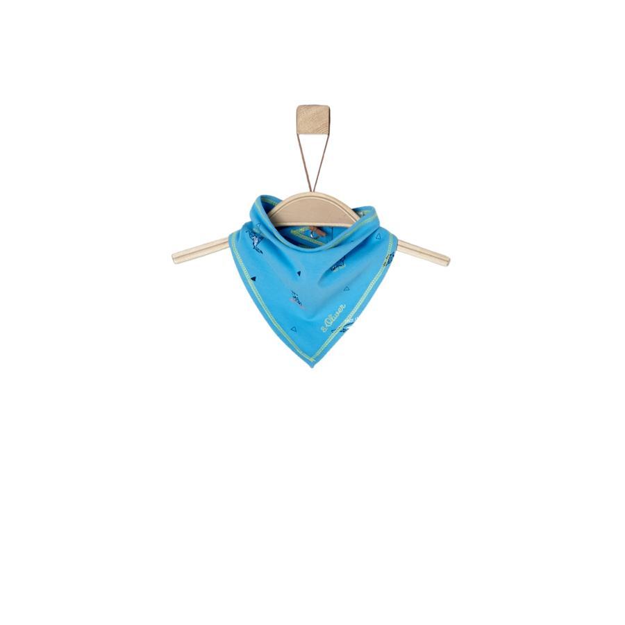 s.Oliver Boys Bufanda triangular turquesa