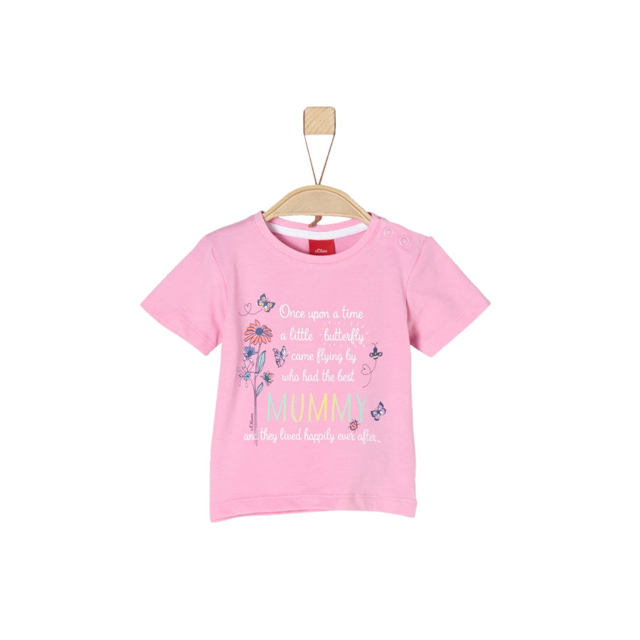 s.Oliver Girls T-Shirt light pink