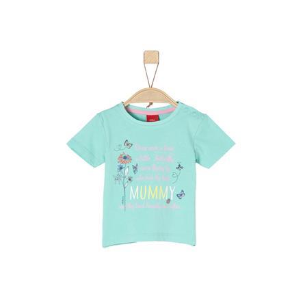 s.Oliver Girl s T-Shirt jasnozielony