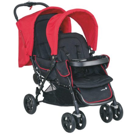 Safety 1st Geschwisterwagen Duodeal Plain Red
