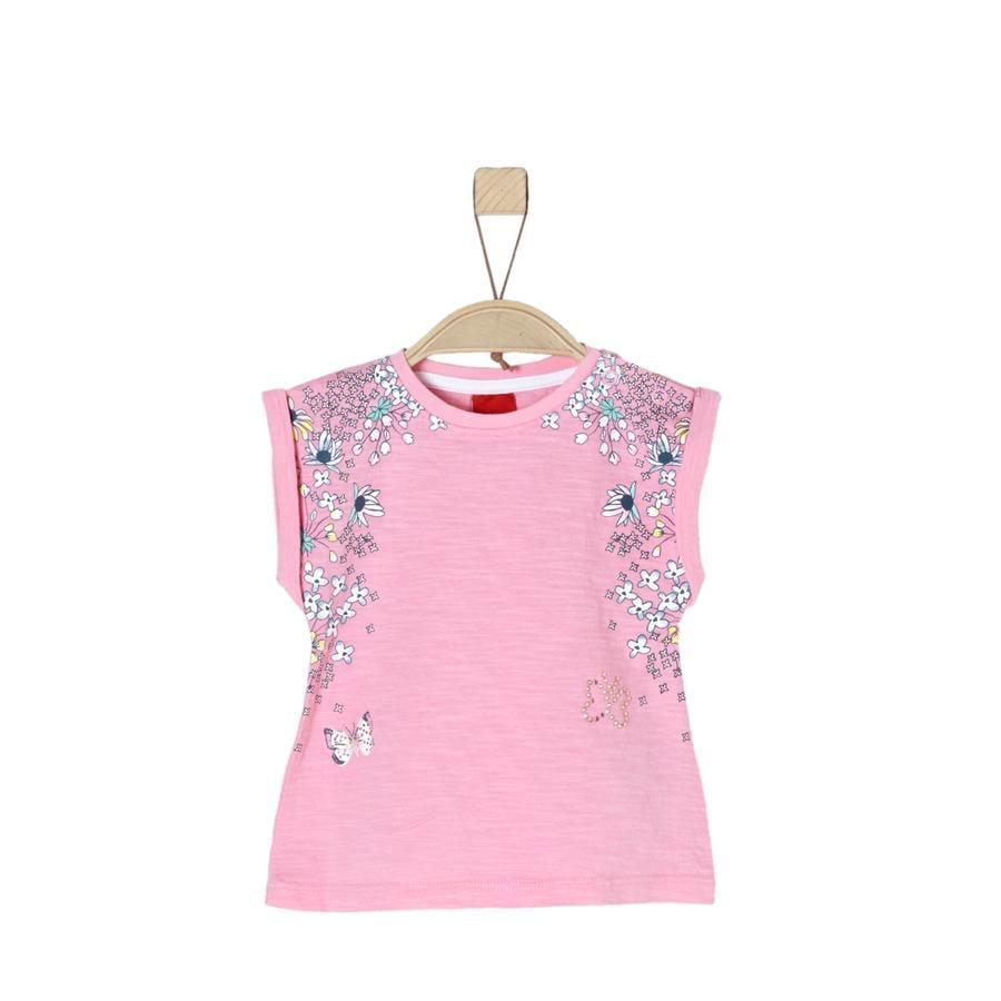 s.Oliver Girl s rose T-Shirt pâle