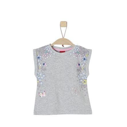 s.Oliver Girl s T-Shirt lichtgrijze melange