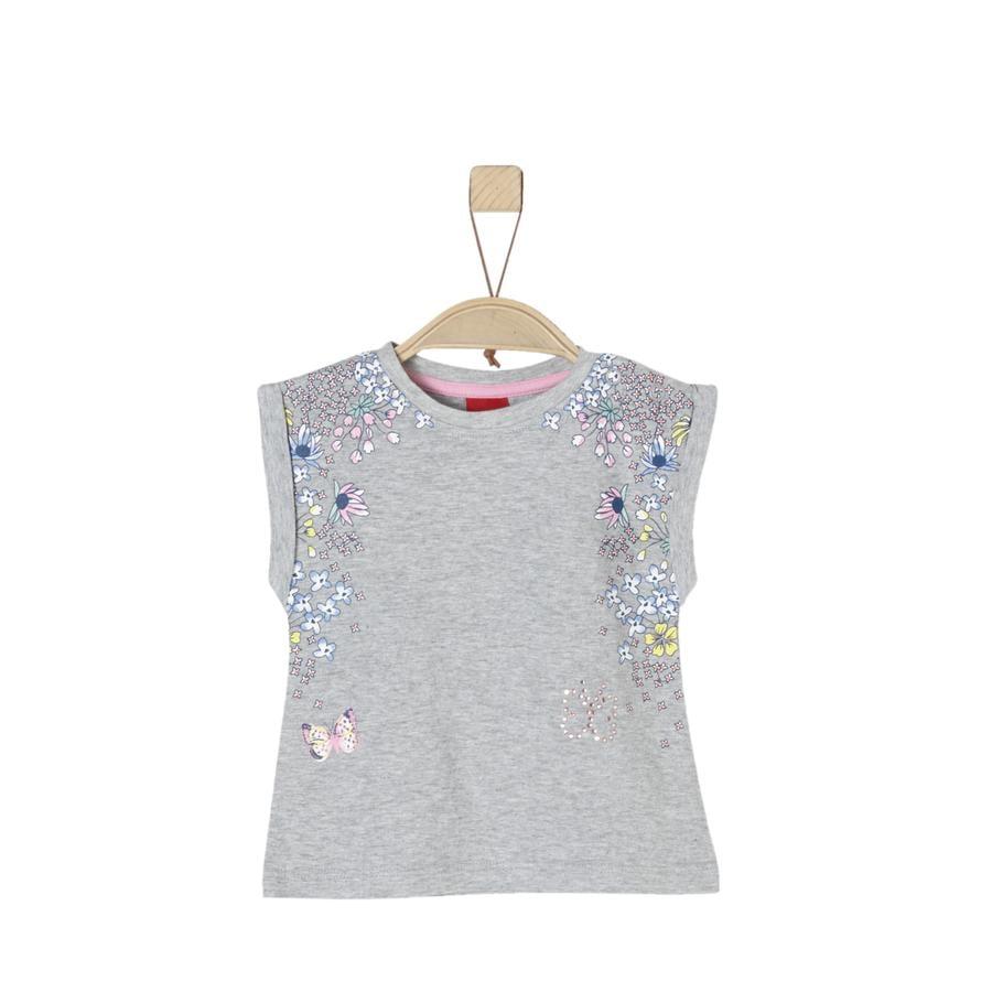 s.Oliver Girl s T-Shirt gris clair melange
