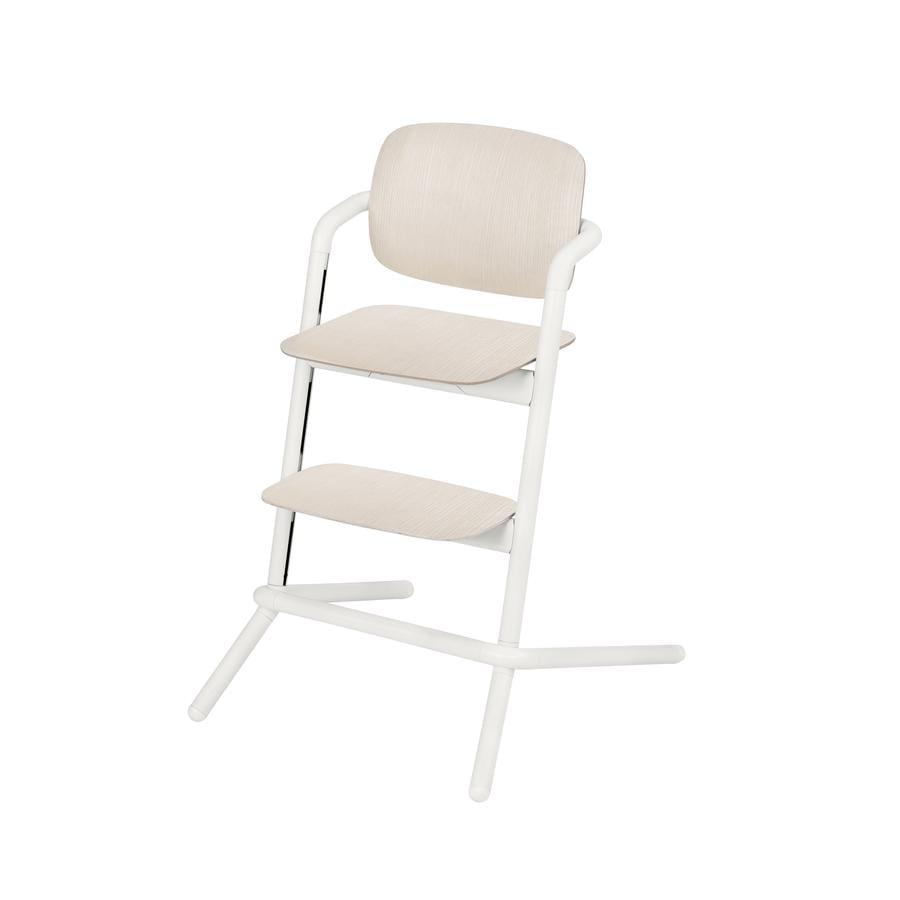 Cybex Jídelní židlička Lemo Wood Porcelaine White 2019
