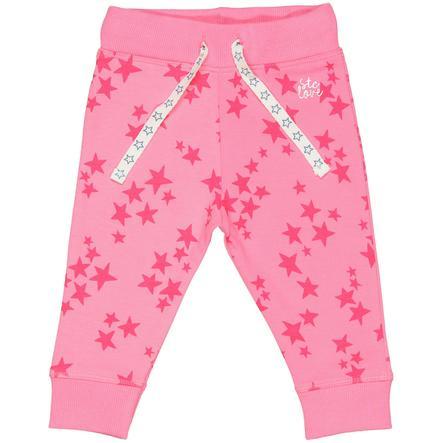 STACCATO Girl s joggingbroek met roze patroon