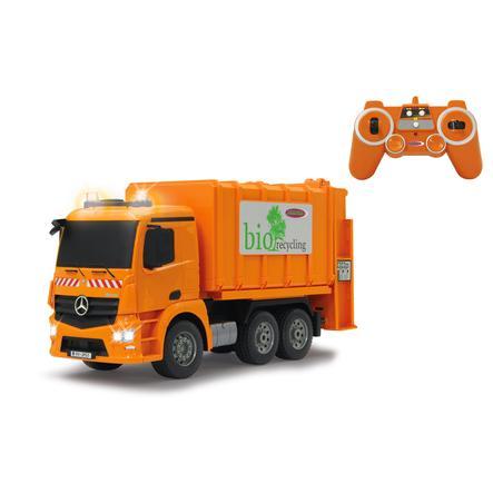 JAMARA Camion della spazzatura Mercedes Antos 1:20 2,4G