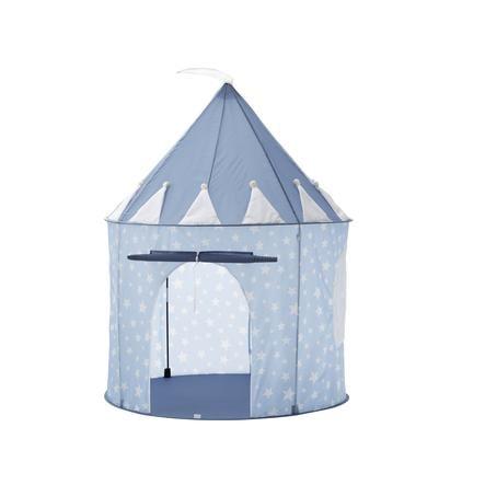 Kids Concept® Tente enfant étoile bleu