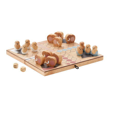 Kids Concept® NEO dřevěná stolní hra člověče nezlob se