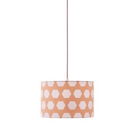 Kids Concept® Deckenlampe Hexagon apricot