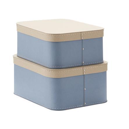Kids Concept® Boîte de rangement, bleu