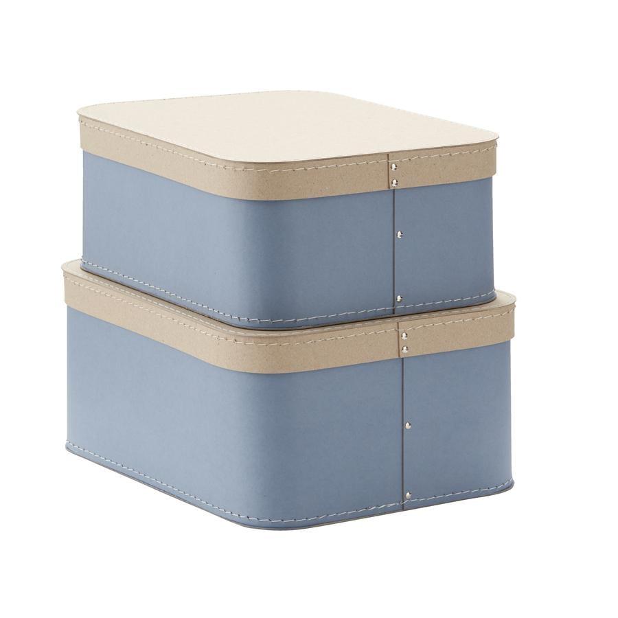 Děti koncept úložný box modrý