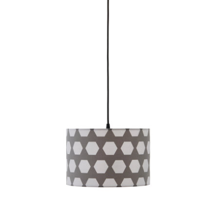 Kids Concept® Deckenlampe Hexagon grau