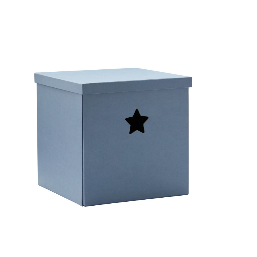 KIDS CONCEPT Säilytyslaatikko Star, sininen