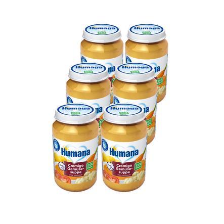 Humana Cremige Gemüsesuppe 6 x 170 ml