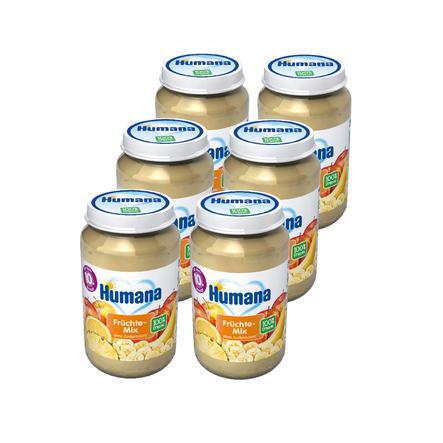 Humana Frucht Früchte-Mix 6 x 190 g