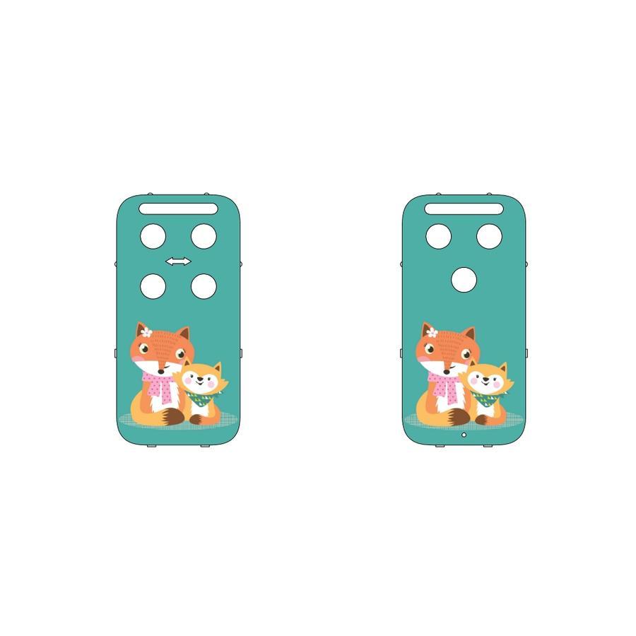 CAPiDi Cache pour babyphone renard multicolore