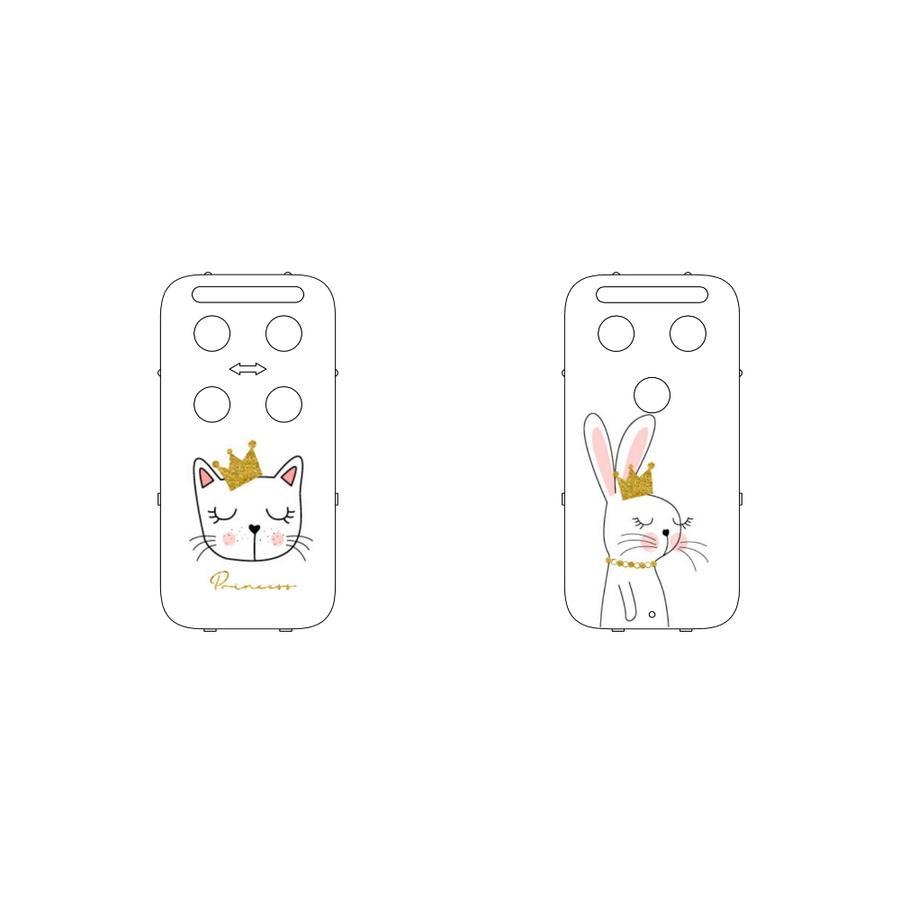 CAPiDi Cache pour babyphone animaux blanc