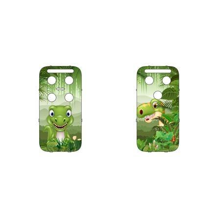 CAPiDi Cache pour babyphone dinosaure vert