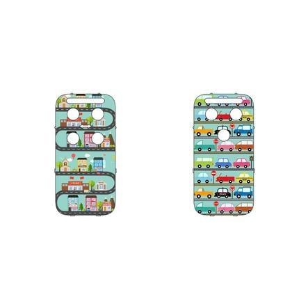 CAPiDi deksel til babycall fargerik - biler