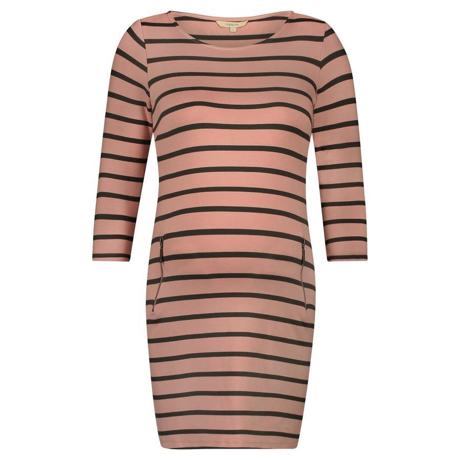 noppies Umstandskleid Anke pink stripe