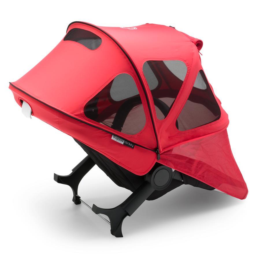 bugaboo Sonnendach mit Lüftungsfenstern Breezy Fox und Cameleon 3 Neon Red