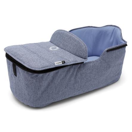 bugaboo Habillage de nacelle pour poussette Fox bleu chiné