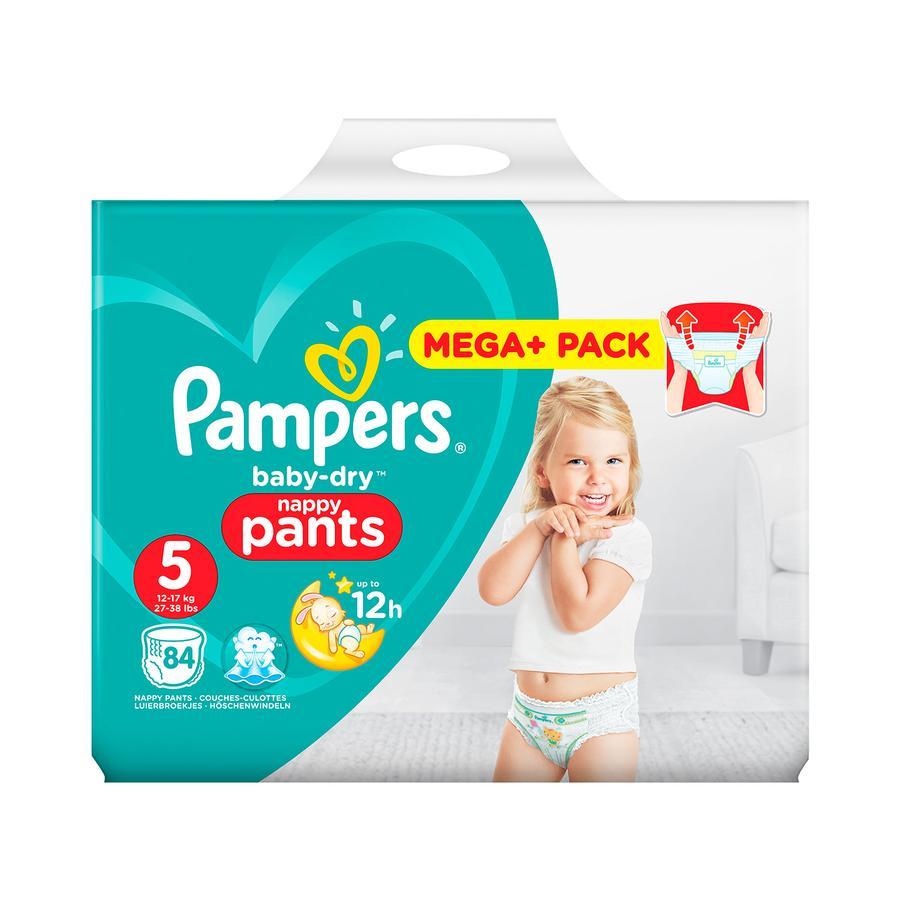 Pampers Windeln Baby Dry Pants Gr. 5 Mega Plus Pack 12 - 17 kg 84 Stück