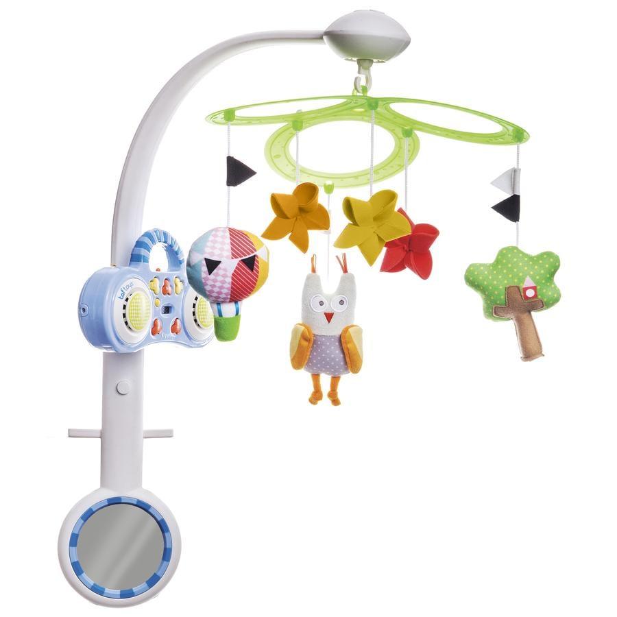 taf™ toys kolotoč Sova s MP3 přehrávačem