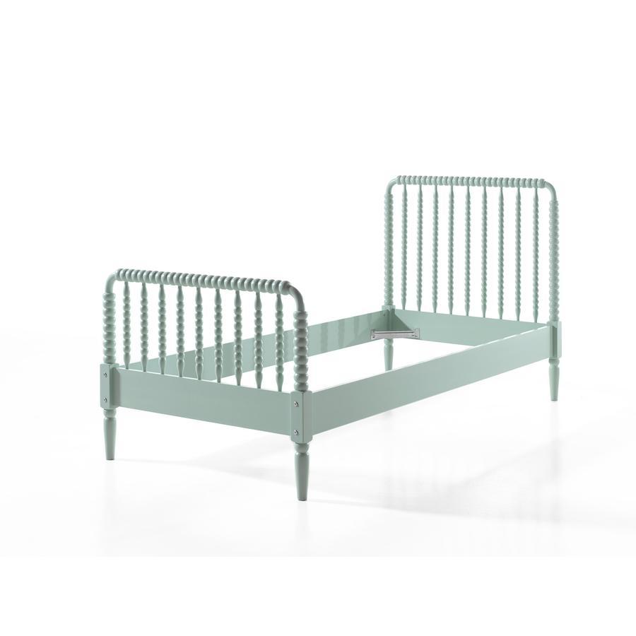 VIPACK Dětská postel Alana mint 90 x 200 cm