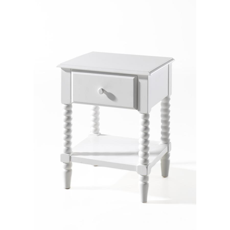VIPACK noční stolek Alana bílý