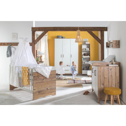 schardt chambre d 39 enfant timber armoire 3 portes. Black Bedroom Furniture Sets. Home Design Ideas