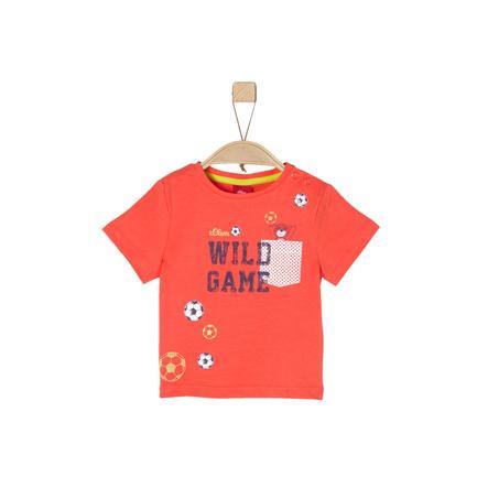 s.Oliver Boys T-Shirt anaranjado