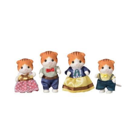 Sylvanian Families® Figurine  famille chats roux 5290