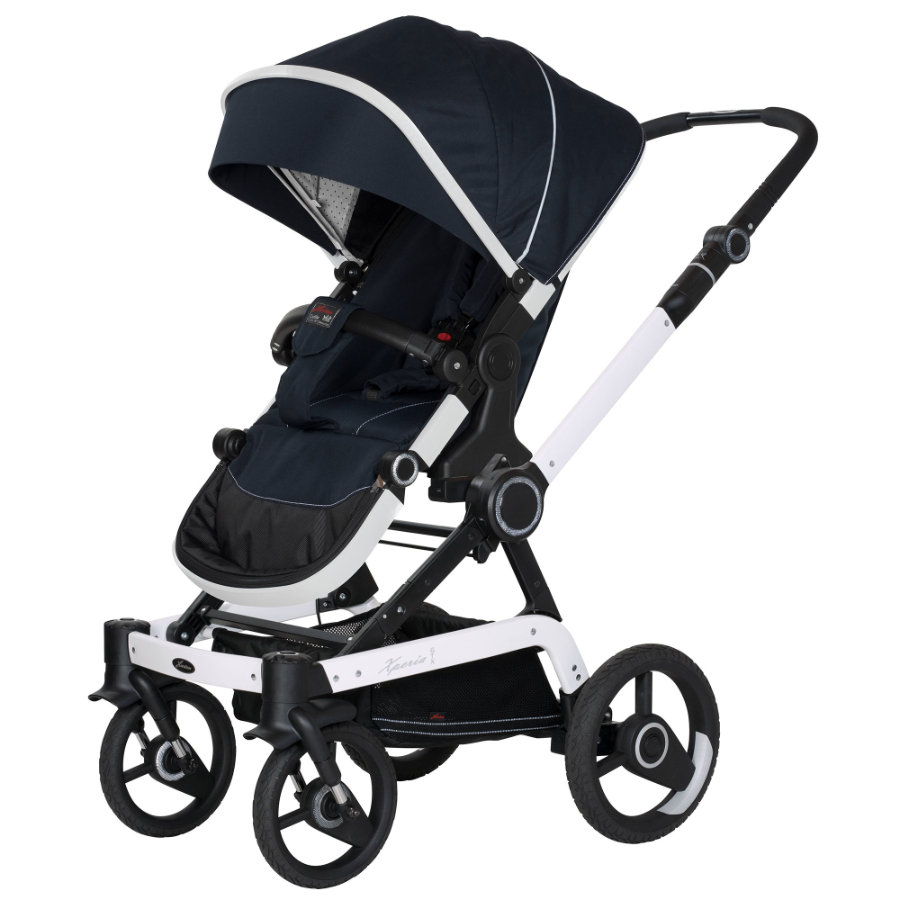 hartan kinderwagen xperia gtx mit handbremse navy star. Black Bedroom Furniture Sets. Home Design Ideas