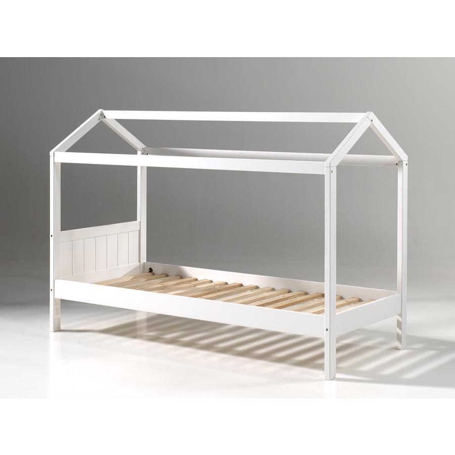 VIPACK Dětská postel domeček Erik bílá